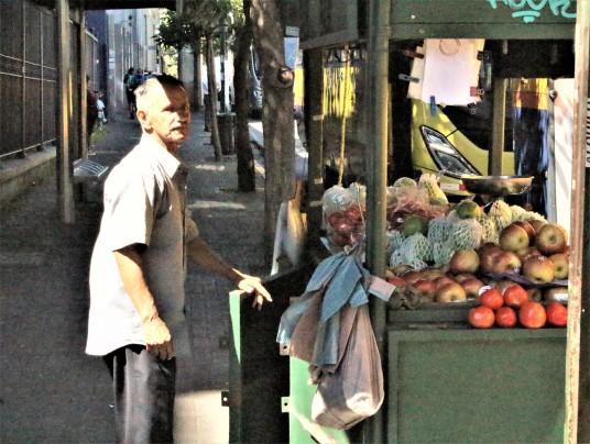 Street vendor San Jose